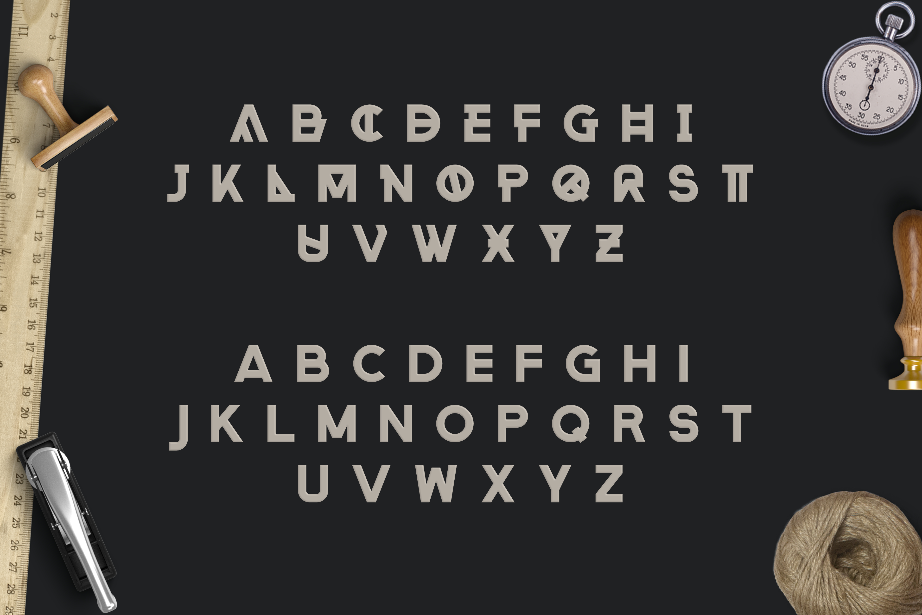 Print on Demand: Rehab Display Font By Graphicfresh - Image 5
