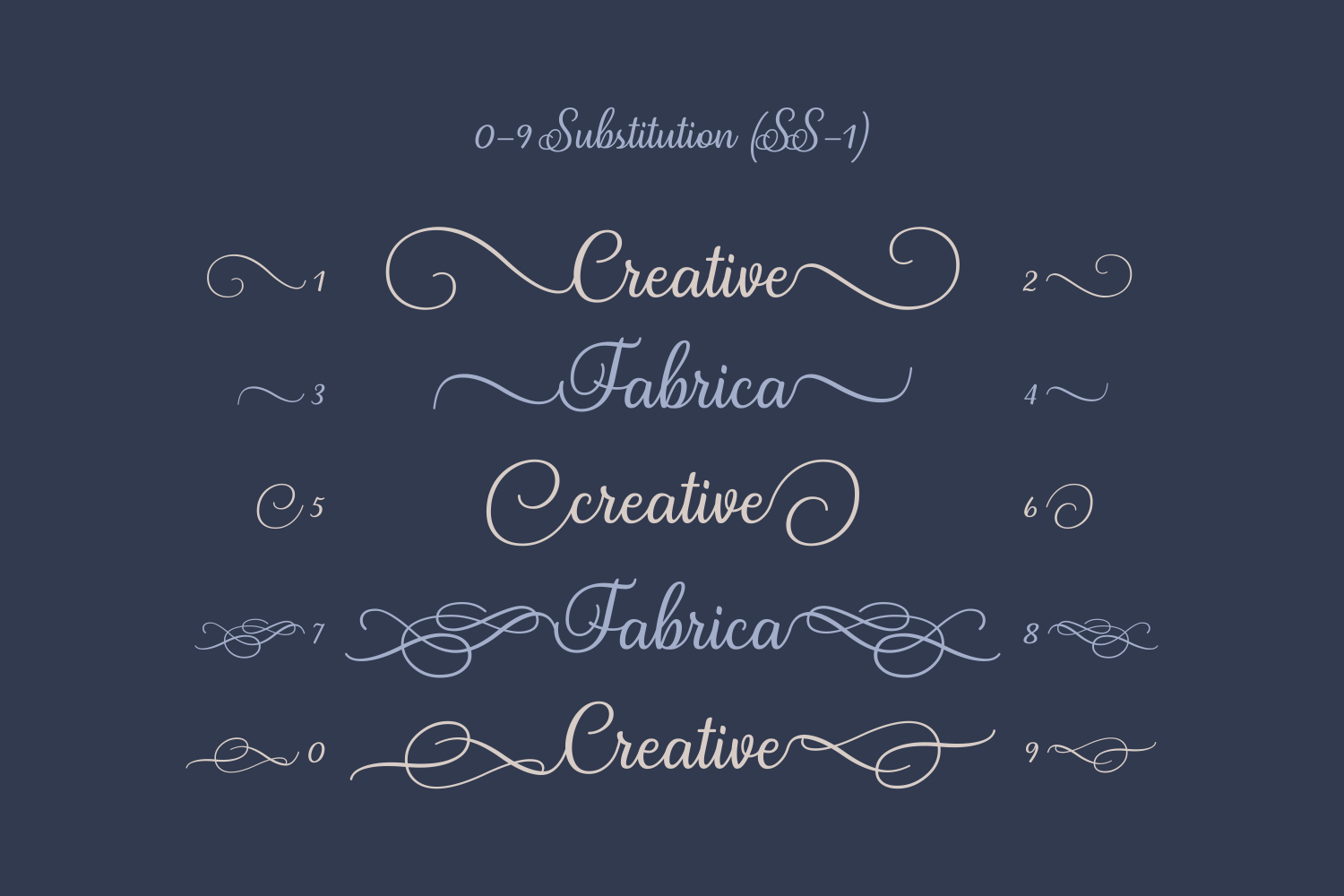 Print on Demand: Satis Script & Handwritten Font By Creative Fabrica Fonts - Image 5