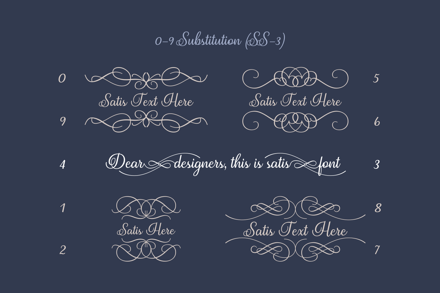 Print on Demand: Satis Script & Handwritten Font By Creative Fabrica Fonts - Image 7