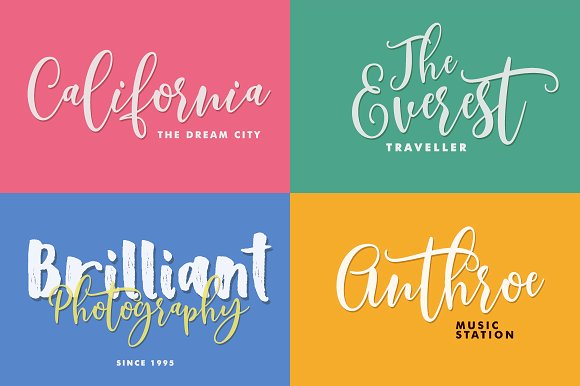Print on Demand: Scoothlane Script & Handwritten Font By Mercurial - Image 5