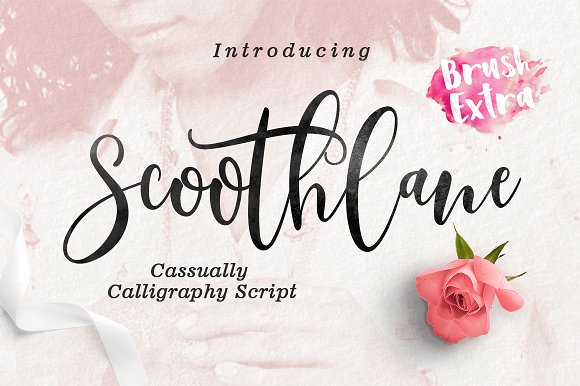 Print on Demand: Scoothlane Script & Handwritten Font By Mercurial - Image 1