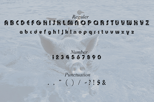 Print on Demand: SeaMonster Display Font By Gblack Id - Image 2