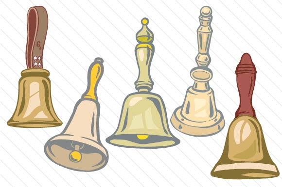 Download Free Set With 5 Handbells Svg Cut File By Creative Fabrica Crafts SVG Cut Files