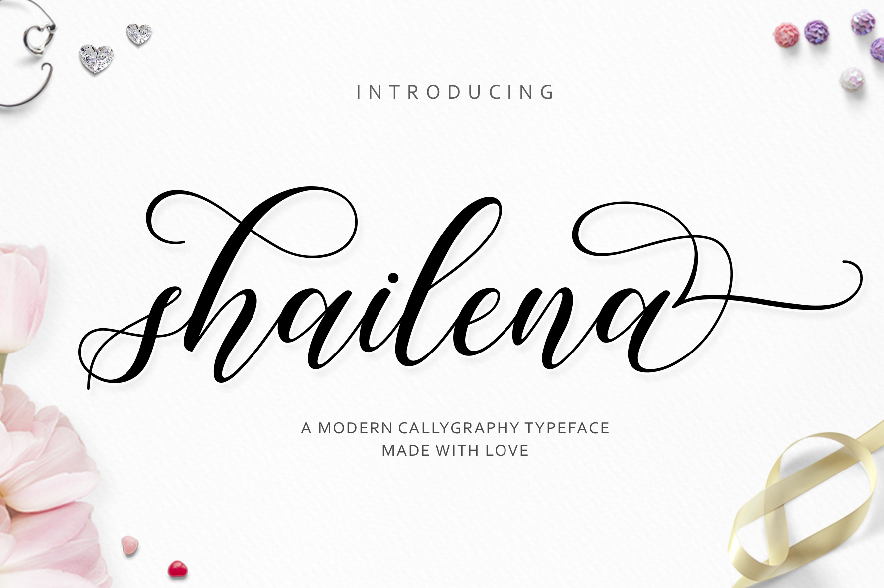 Print on Demand: Shailena Script & Handwritten Font By Jamalodin