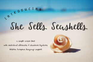 She Sells Seashells by AutumnLanePaperie