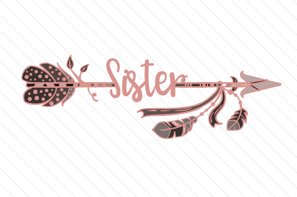 Sister Boho Craft Cut File By Creative Fabrica Crafts - Image 1