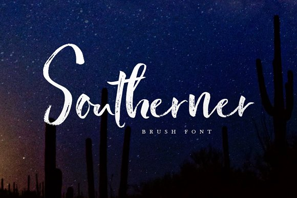 Print on Demand: Southerner Script & Handwritten Font By Creativeqube Design