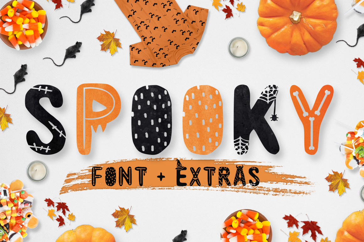 Spooky Display Font By Latin Vibes
