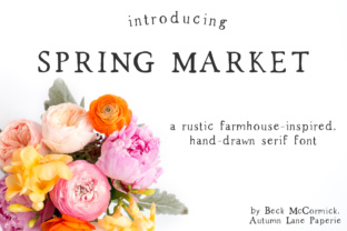 Spring Market by AutumnLanePaperie