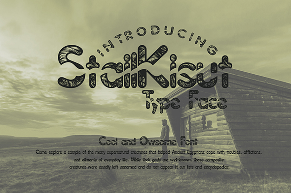 Print on Demand: StailKisut Display Font By Gblack Id - Image 2
