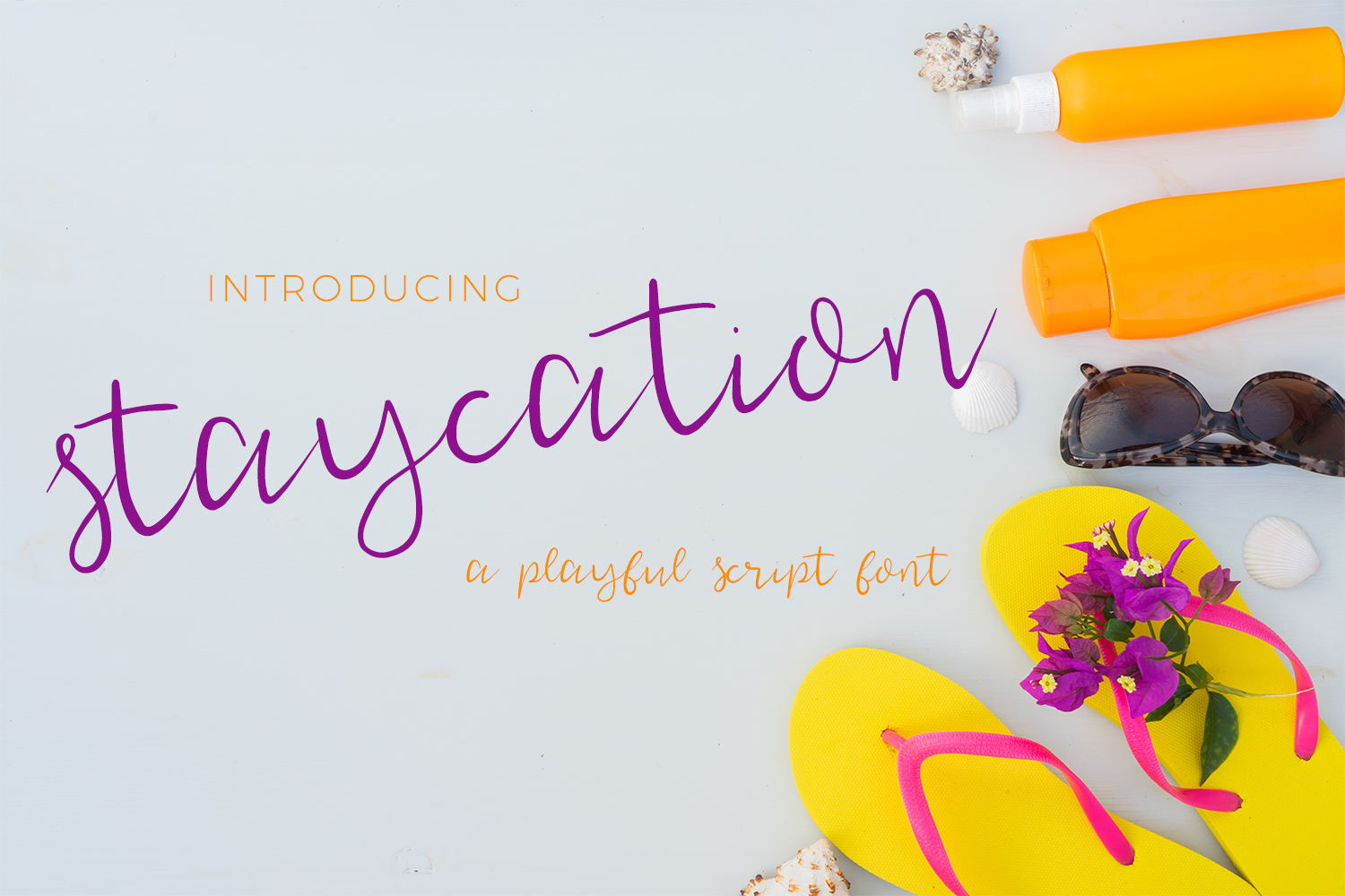 Print on Demand: Staycation Script Script & Handwritten Font By BeckMcCormick