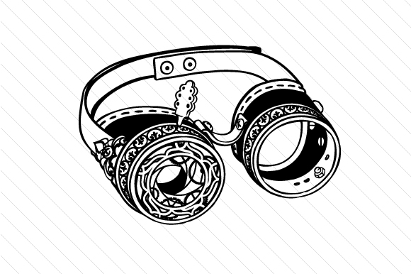 Download Free Steampunk Googles Archivos De Corte Svg Por Creative Fabrica for Cricut Explore, Silhouette and other cutting machines.