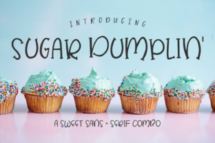 Sugar Dumplin' by AutumnLanePaperie