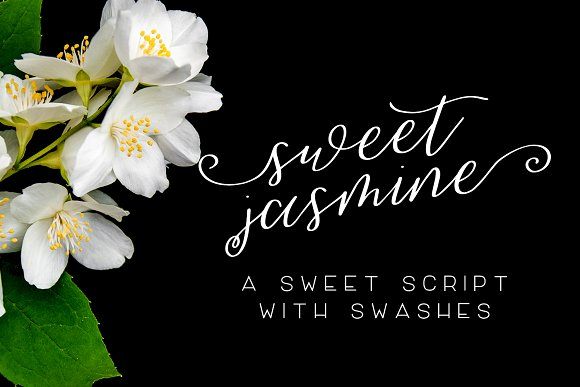 Print on Demand: Sweet Jasmine Script & Handwritten Font By BeckMcCormick