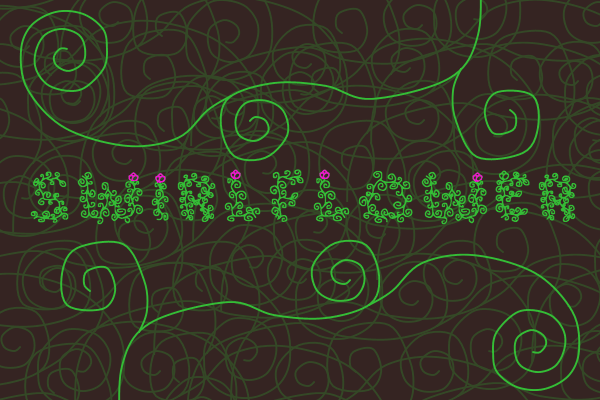Swirlflower Decorative Font By Marlee Pagels