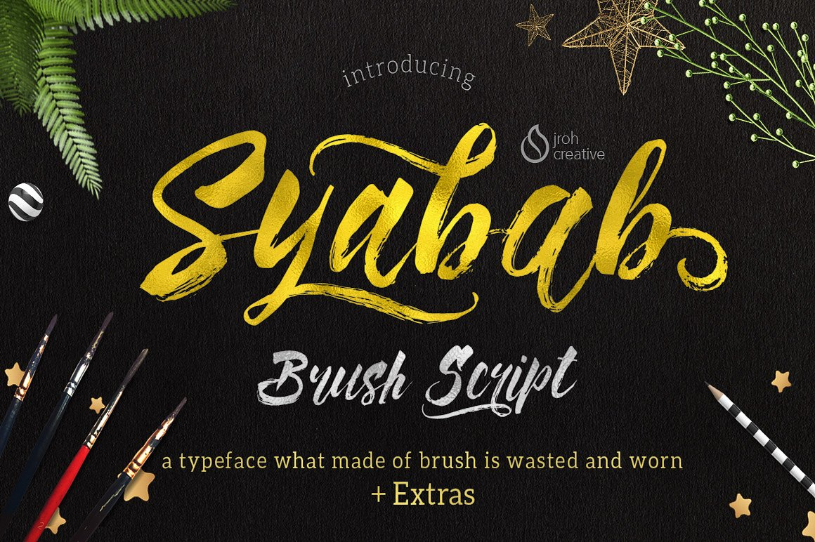 Print on Demand: Syabab Script & Handwritten Font By JROH Creative