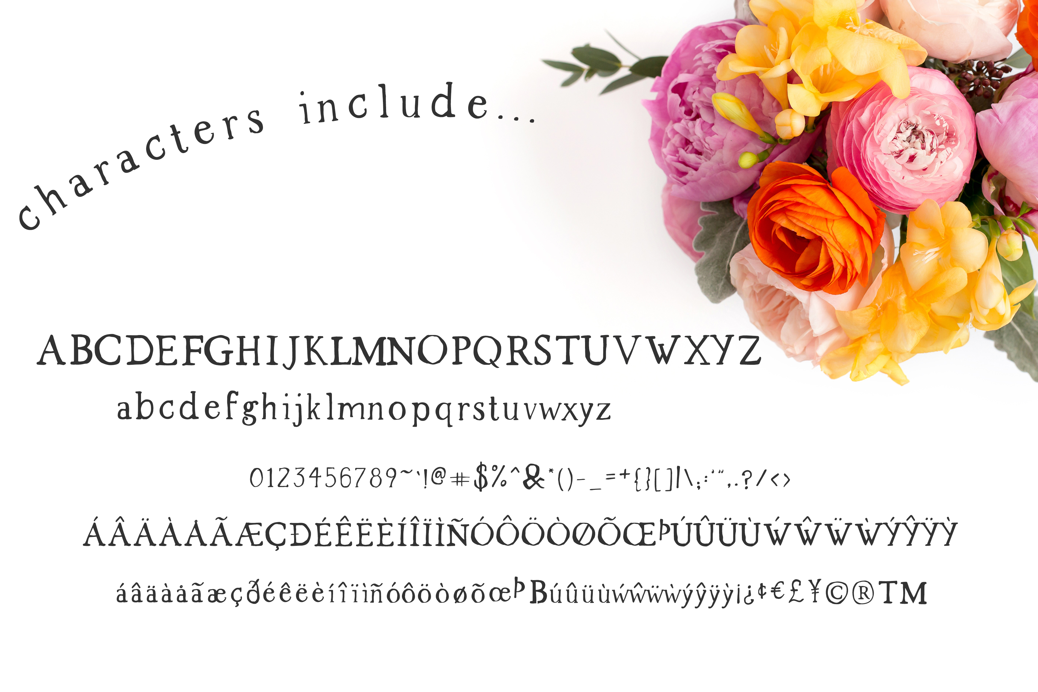 Print on Demand: The Market Duo Decorative Font By BeckMcCormick - Image 3