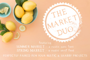 The Market Duo by AutumnLanePaperie