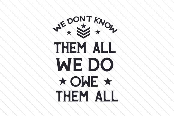 Download Free We Don T Know Them All Svg Cut File By Creative Fabrica Crafts for Cricut Explore, Silhouette and other cutting machines.