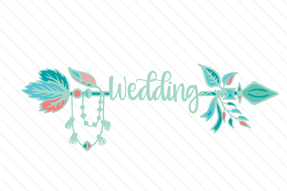 Wedding Boho Craft Cut File By Creative Fabrica Crafts