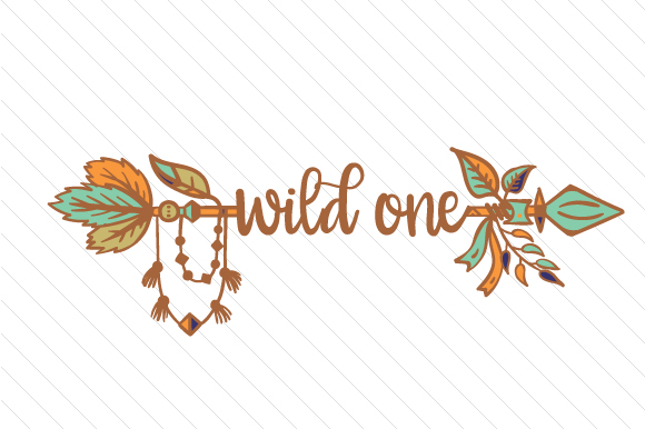 Wild One Boho Plotterdatei von Creative Fabrica Crafts