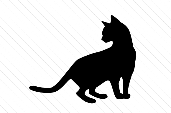 Download Free Cat Silhouettes Svg Cut File By Creative Fabrica Crafts for Cricut Explore, Silhouette and other cutting machines.