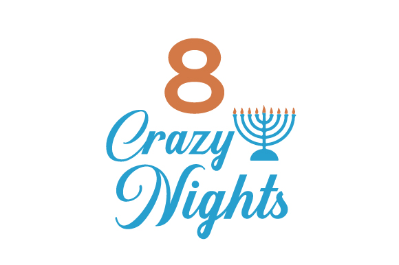 8 Crazy Nights Jewish Craft Cut File By Creative Fabrica Crafts