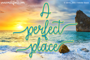 A Perfect Place Script & Handwritten Font By Misti
