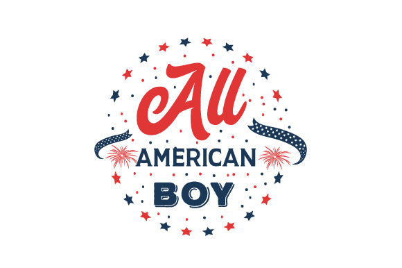 All American Boy Svg Cut File By Creative Fabrica Crafts