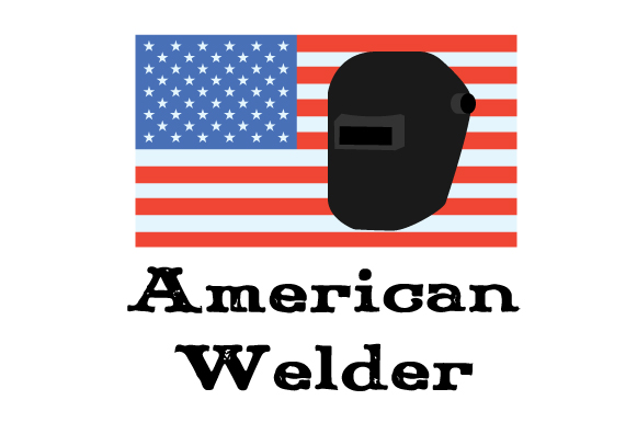 Download Free American Welder Svg Cut File By Creative Fabrica Crafts for Cricut Explore, Silhouette and other cutting machines.