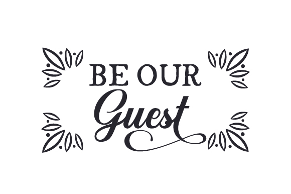 Be Our Guest Craft Design By Creative Fabrica Crafts