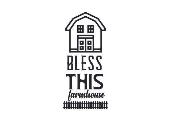 Bless This Farmhouse Craft Design By Creative Fabrica Crafts