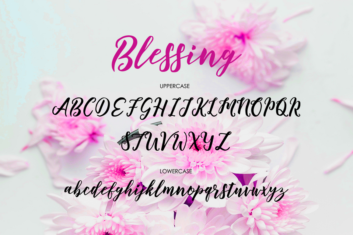 Print on Demand: Blessing Script & Handwritten Font By Great Studio - Image 6