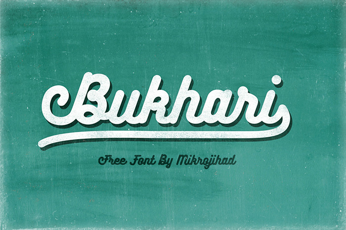 Print on Demand: Bukhari Script Font By Mikrojihad Typefounder