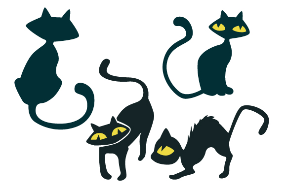 Cats Design Set Cats Craft Cut File By Creative Fabrica Crafts - Image 1