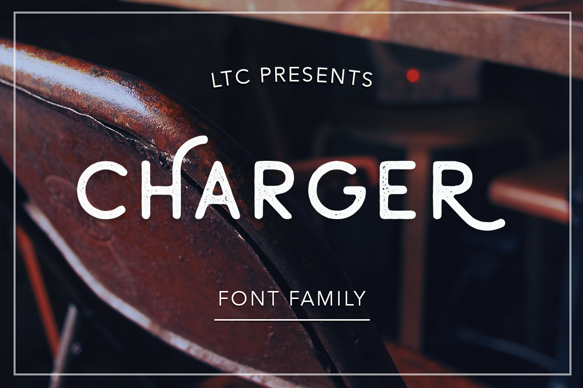 Print on Demand: Charger Sans Serif Font By Pasha Larin
