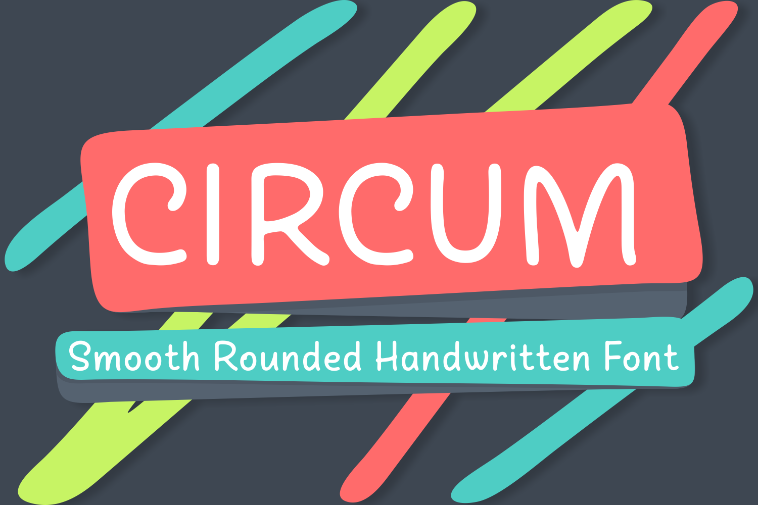 Print on Demand: Circum Script & Handwritten Font By Creative Fabrica Fonts