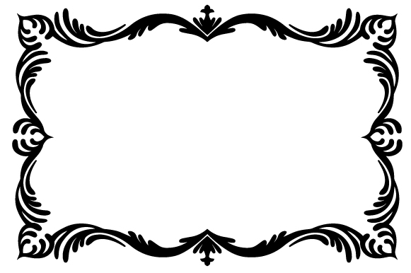Download Free Classically Embellished Frame Svg Cut File By Creative Fabrica for Cricut Explore, Silhouette and other cutting machines.