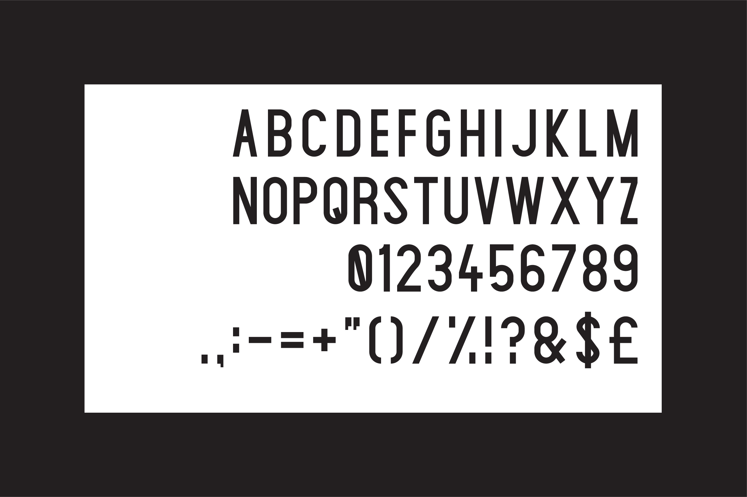 Print on Demand: Claxton Sans Serif Font By Mike Hill - Image 2
