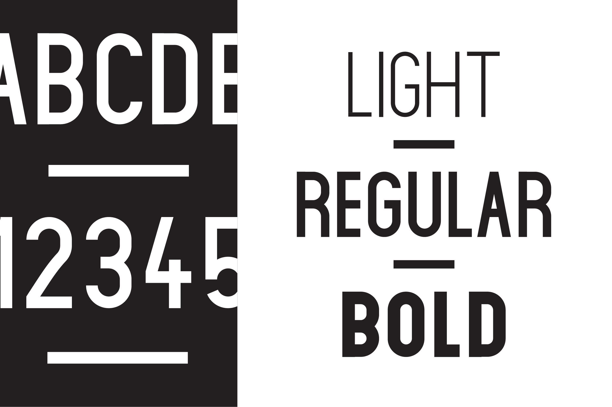 Print on Demand: Claxton Sans Serif Font By Mike Hill - Image 3