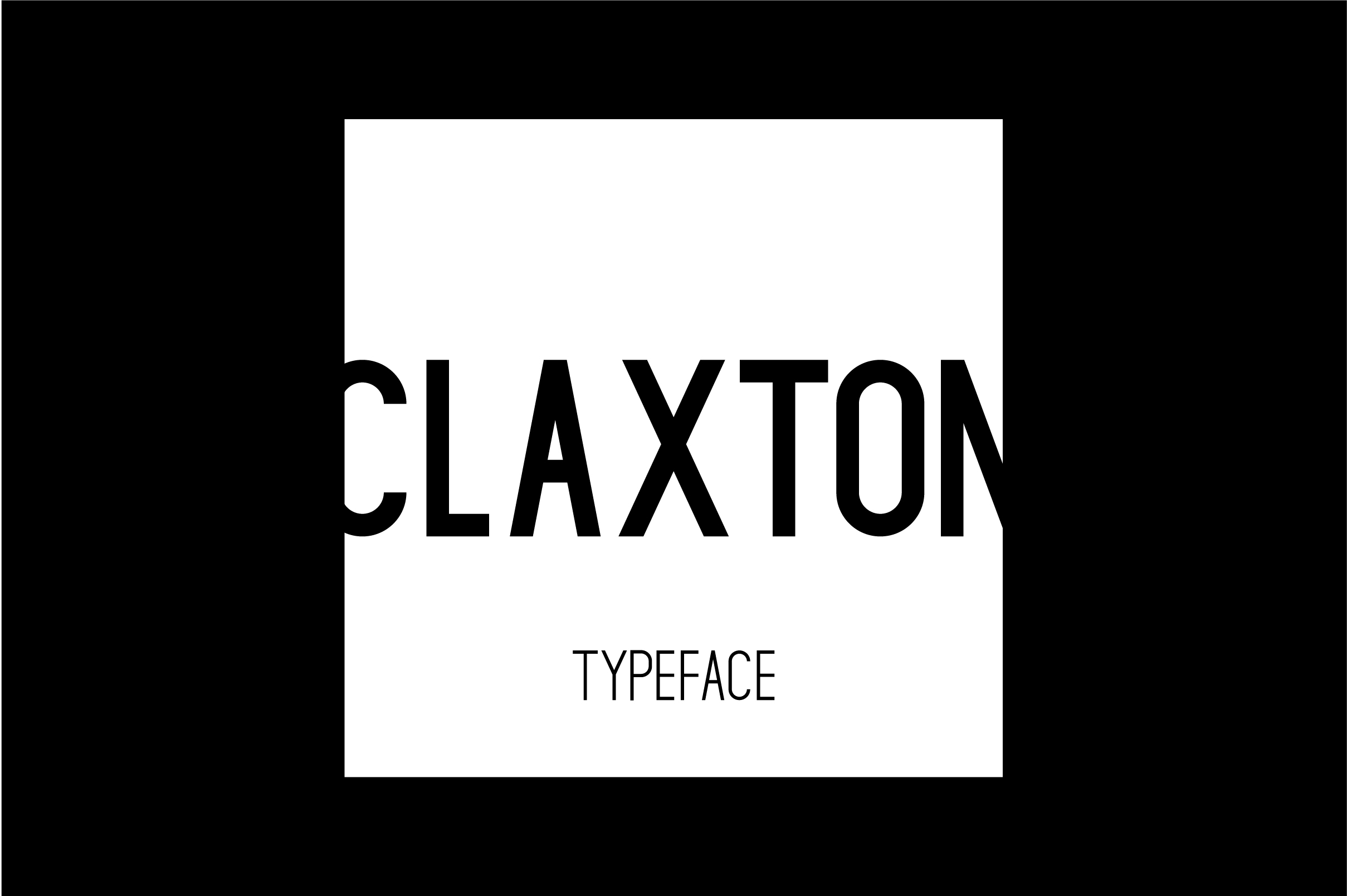 Print on Demand: Claxton Sans Serif Font By Mike Hill - Image 7