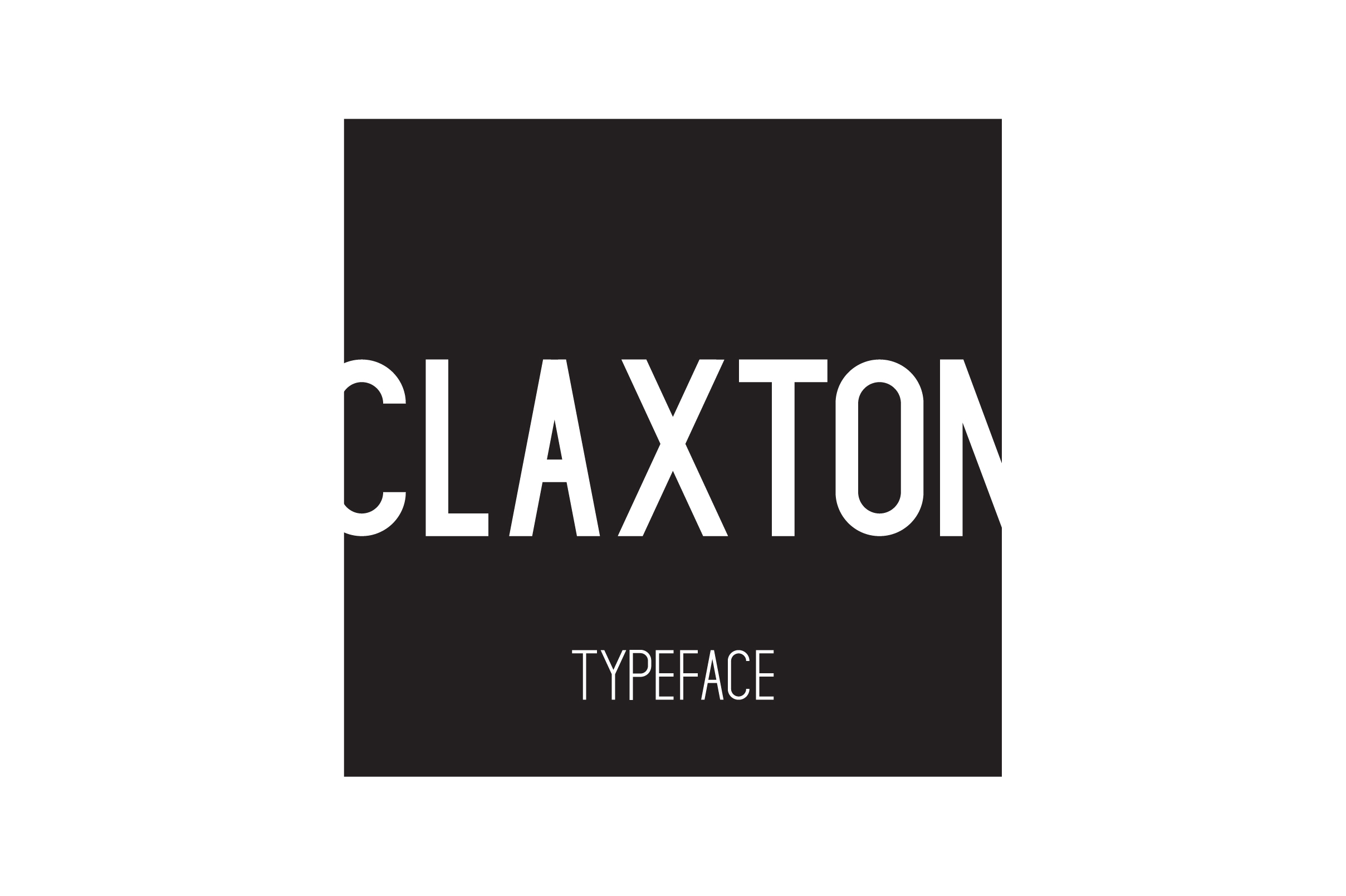 Print on Demand: Claxton Sans Serif Font By Mike Hill