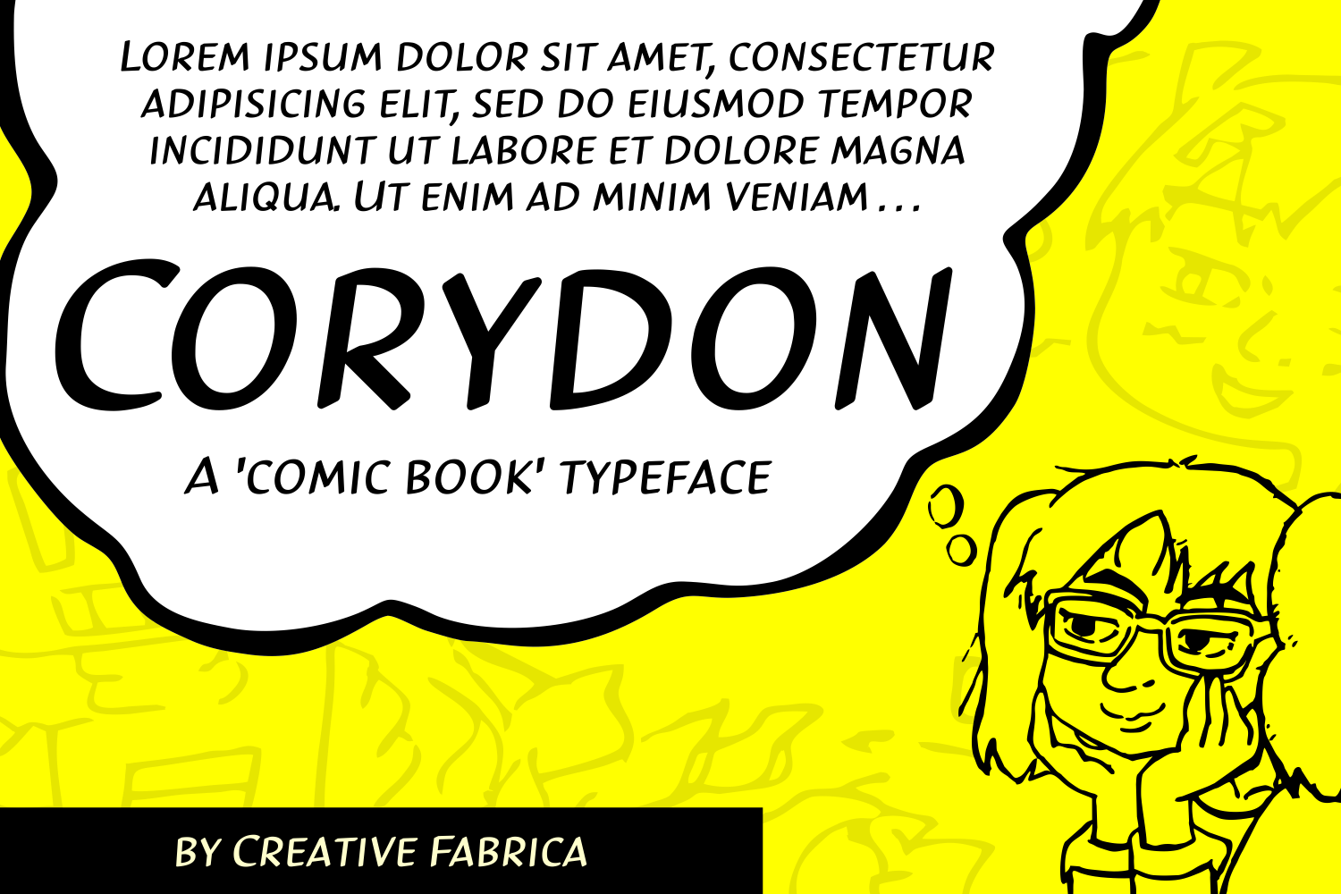 Print on Demand: Corydon Display Font By Creative Fabrica Fonts - Image 2