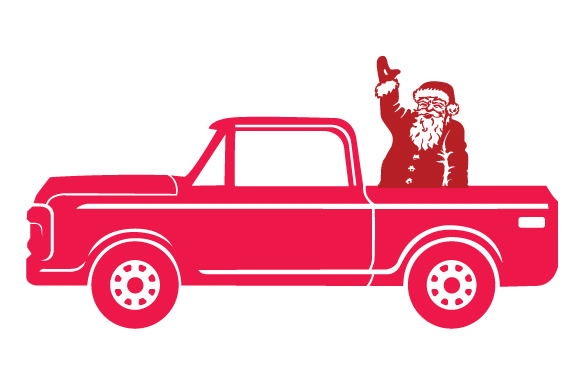Christmas Truck Kit Volume 2 - Create Your Own Truck Freebie