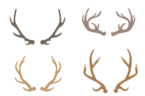Deer Antlers Design Set Craft Design By Creative Fabrica Crafts