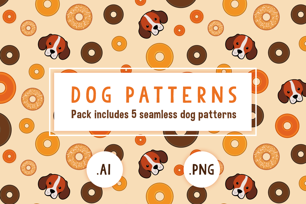 Dog Patterns Graphic Patterns By The Stock Croc