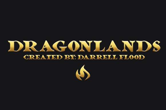 Print on Demand: Dragonlands Decorative Font By Dadiomouse