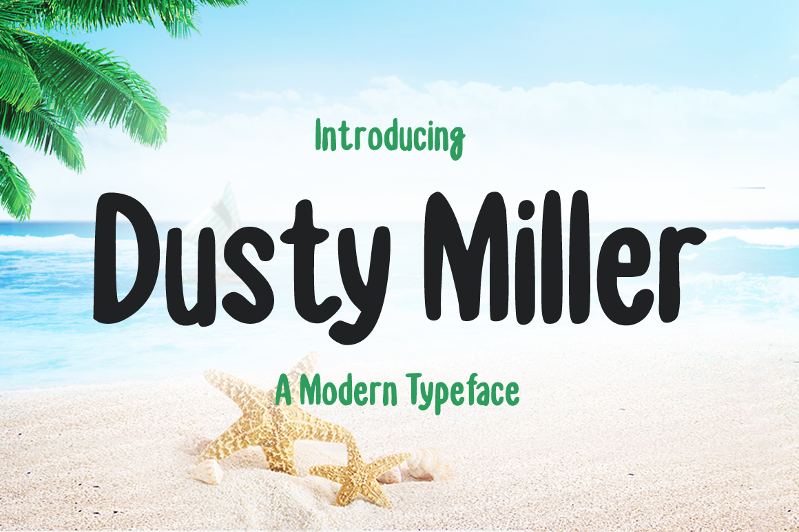 Print on Demand: Dusty Miller Display Font By Creative Fabrica Fonts - Image 1