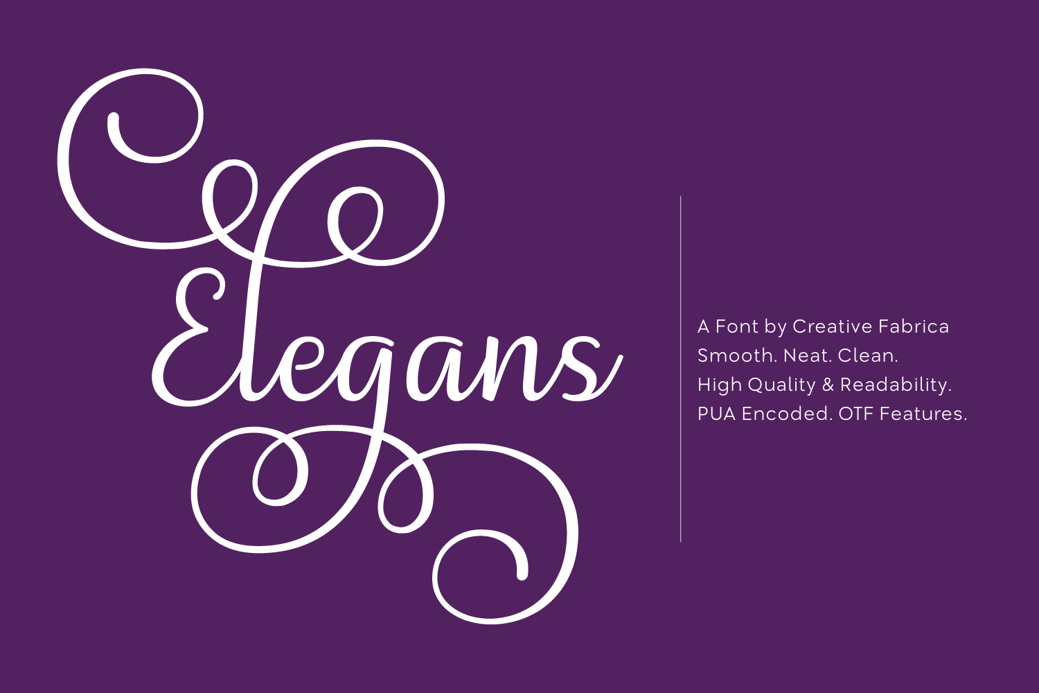 Print on Demand: Elegans Script & Handwritten Font By Creative Fabrica Fonts