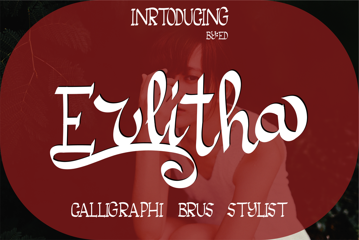 Print on Demand: Erlitha Script & Handwritten Font By ed.creative